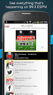 99.3 ESPN- screenshot thumbnail