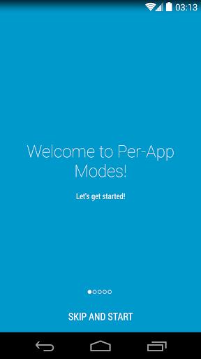 Per-App Modes Lite
