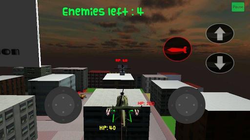 Helicopter vs Tanks