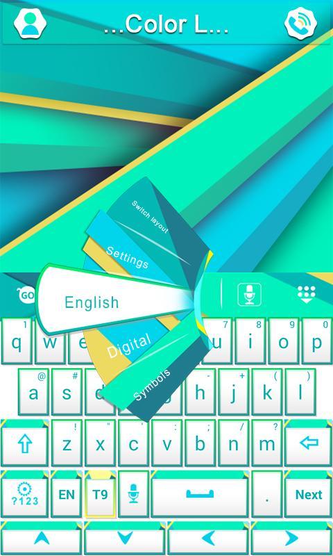 Color L GO Keyboard- screenshot