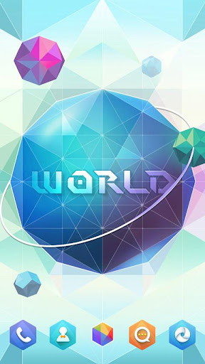 【免費個人化App】World GO Launcher Theme-APP點子