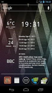 Glass Widgets ICS - screenshot thumbnail