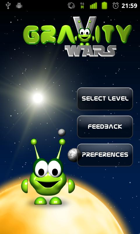 Gravity Wars Alpha- screenshot