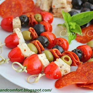 Antipasto Kebab Appetizers