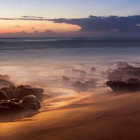 Cape Vidal sunrise by Tony Wilson - Landscapes Sunsets & Sunrises