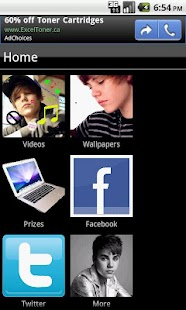 Justin Bieber Fan App - screenshot thumbnail
