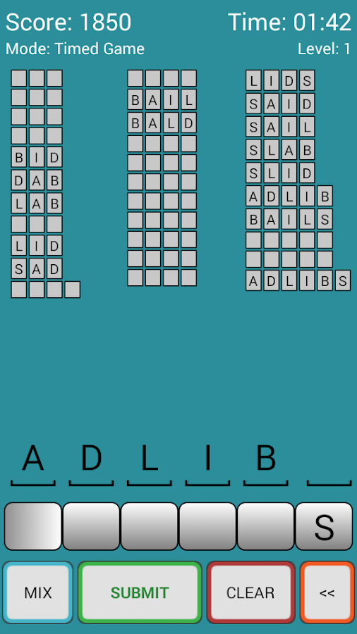 Word Scrambler Free- screenshot