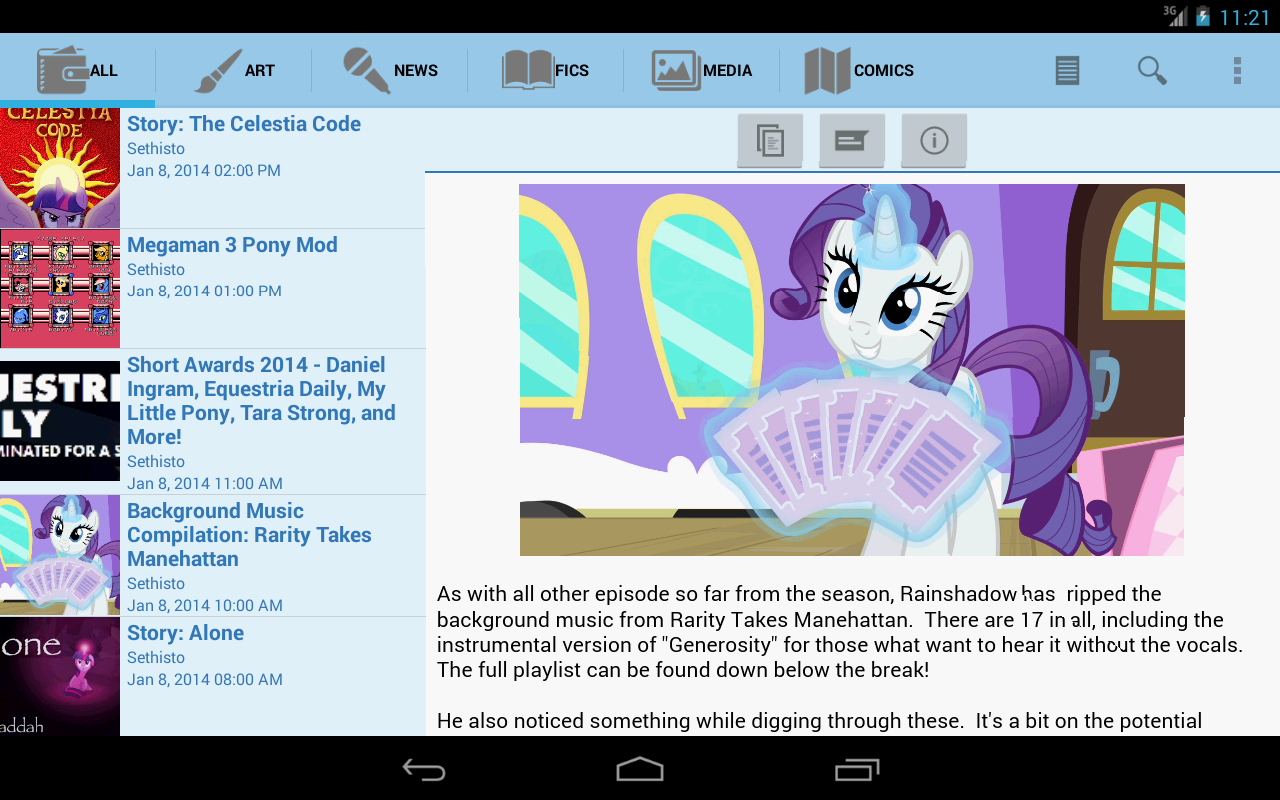 Equestria Daily - screenshot