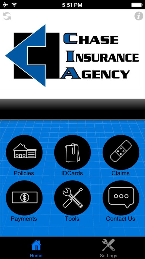 Chase Insurance Agency- screenshot