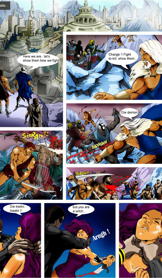 Comics- screenshot