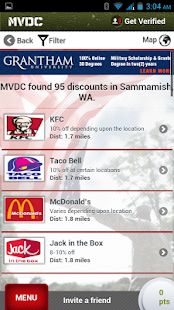 MVDC Military & Vet Discounts - screenshot thumbnail