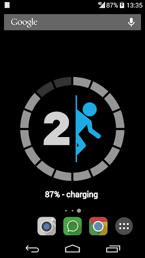 Portal 2 Battery Wallpaper