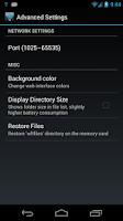 Screenshot of WiFi File Transfer Pro