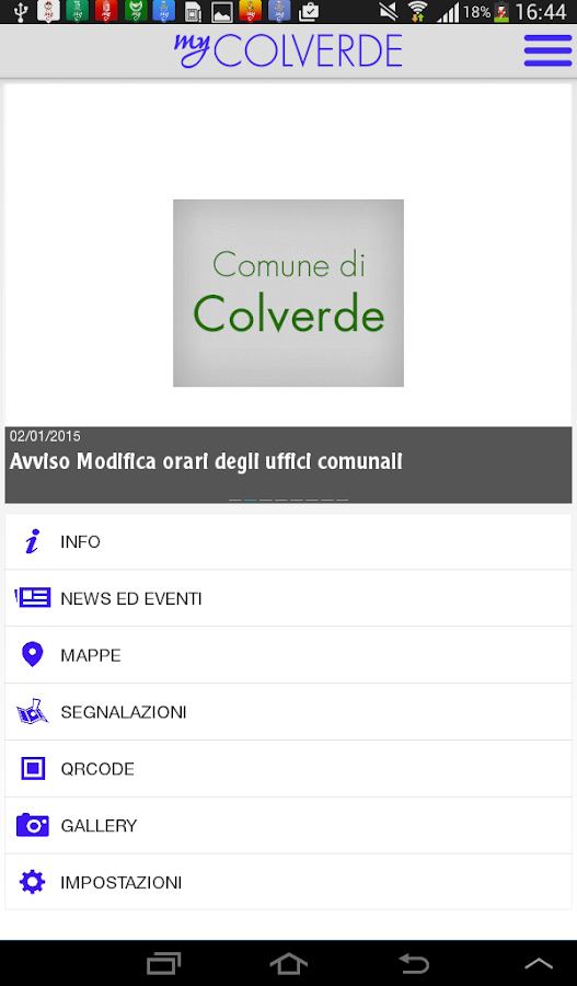 MyColverde- screenshot