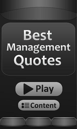 Best - Management - Quotes