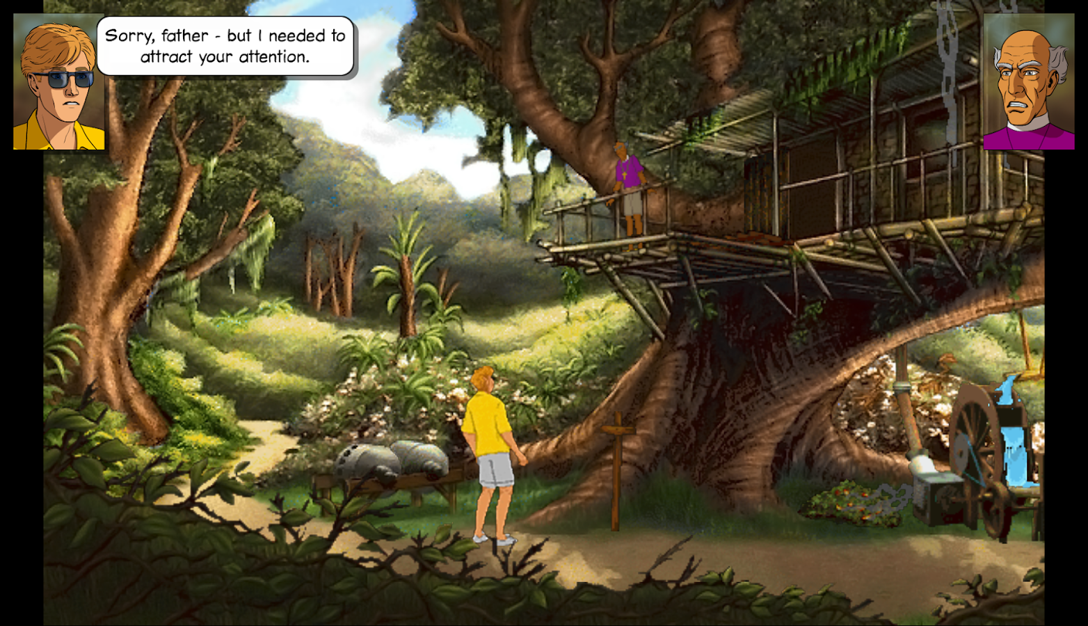 Broken Sword 2 Smoking Mirror - screenshot