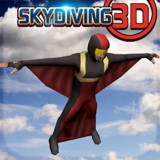 跳傘3D - 極限運動 體育競技 App LOGO-硬是要APP