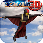 Skydiving 3D - extreme sports icon