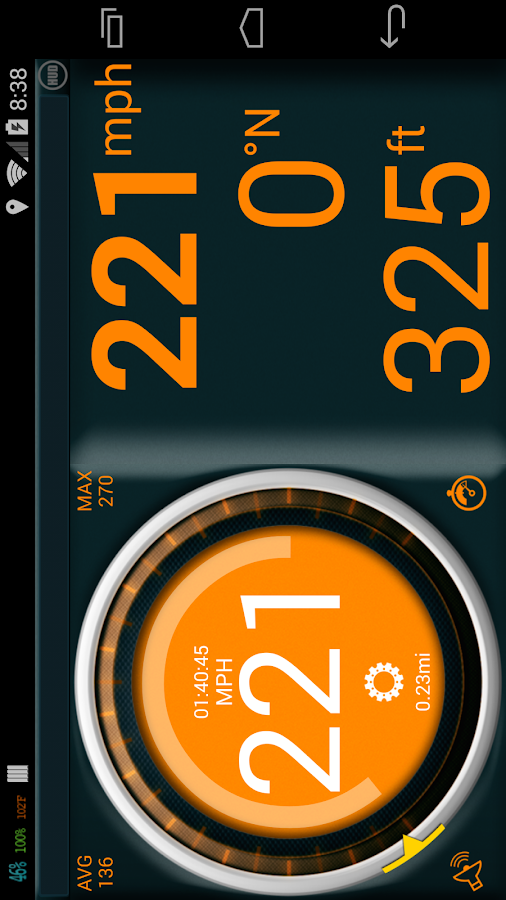 Gps Speedometer Pro- screenshot
