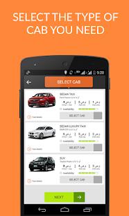 Taxi Booking App Book Taxi Cab - screenshot thumbnail