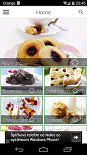 100 cakes & bakes recipes - screenshot thumbnail
