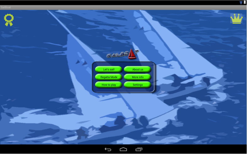Sailboat - screenshot