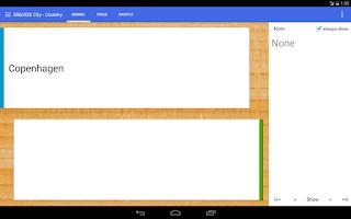 Screenshot of Flashcard Box