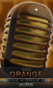 gold orange power amp skin v1.31