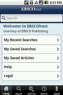 EBSCOhost – minijatura snimke zaslona
