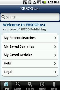 EBSCOhost- screenshot thumbnail