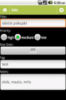 Screenshot of ToDoid