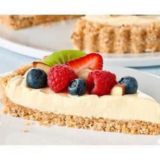 Vanilla-Almond Fruit Tart.