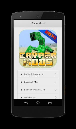 Cryper Mods