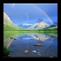 3D landscape HD wallpaper icon