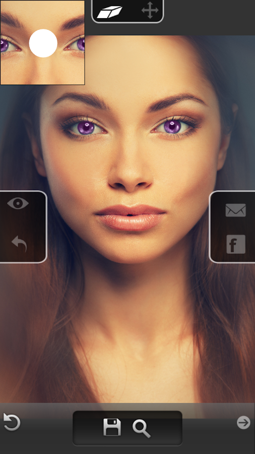Eye Color Changer - Photo Grid- screenshot