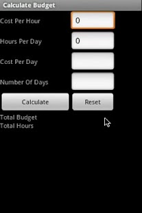Burn Rate Calculator Lite screenshot