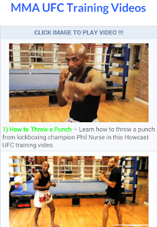 MMA UFC Trainingのおすすめ画像3