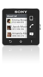 Missed Call smart extension Screenshot 2