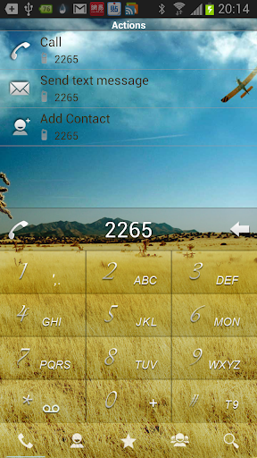 RocketDial Farm Theme