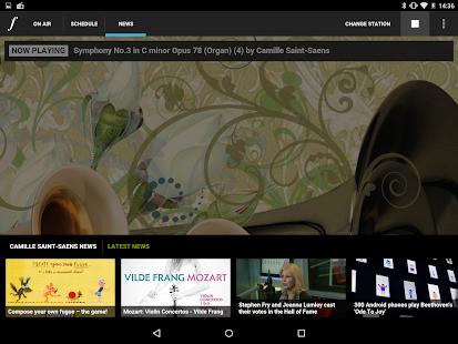 Classic FM Radio App - screenshot thumbnail