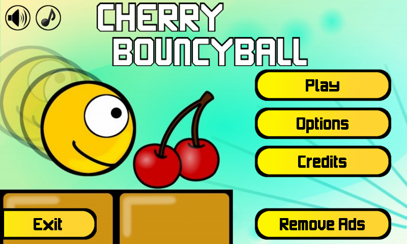 Cherry BouncyBall - screenshot