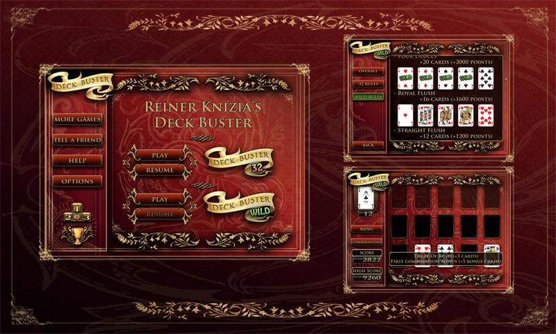 Reiner Knizia's Deck Buster - screenshot