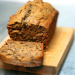 Jacked-up Banana Bread.