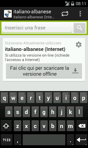 Italiano-Albanese Dizionario
