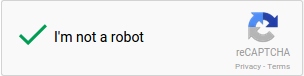 reCAPTCHA checkbox checked after successfully completing a verification challenge