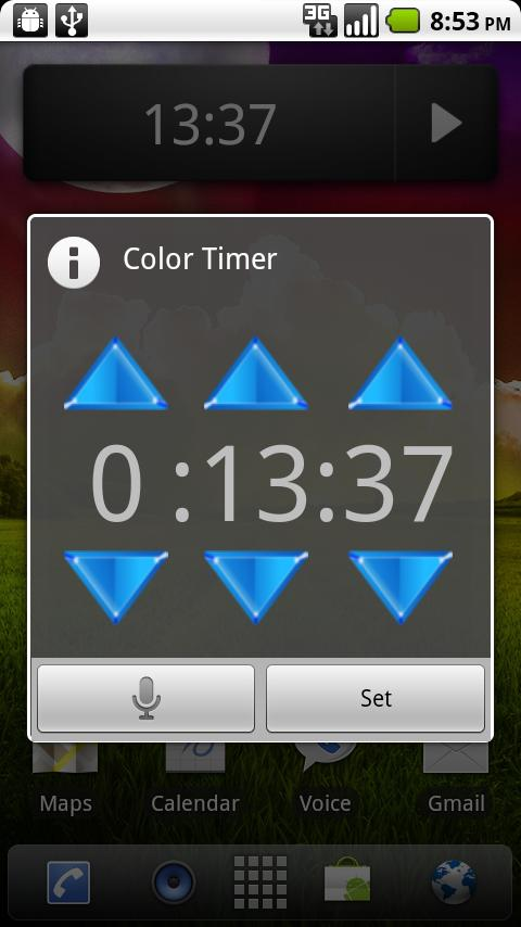 Color Timer- screenshot