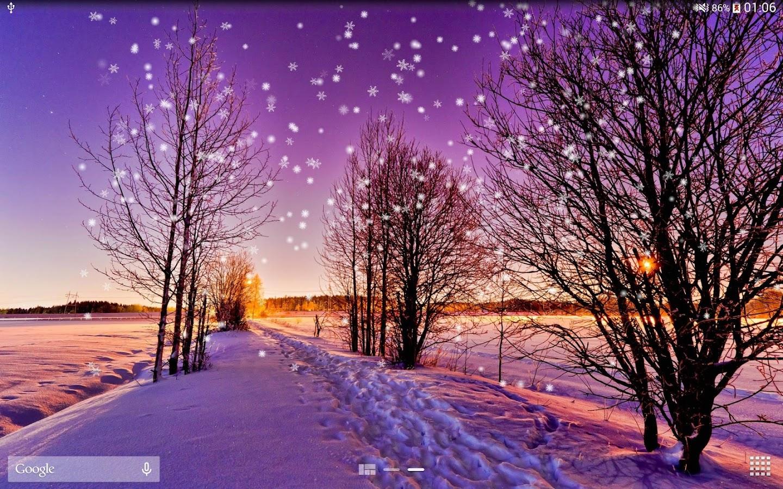 Vinter Snö Live Bakgrund HD – Android-appar på Google Play