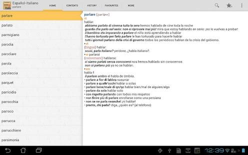 Vox Essential Italian<>Spanish - screenshot thumbnail