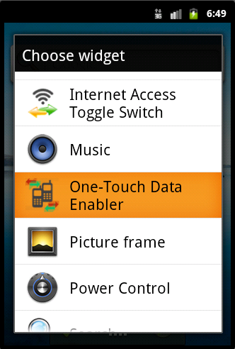 One-Touch Data Enabler