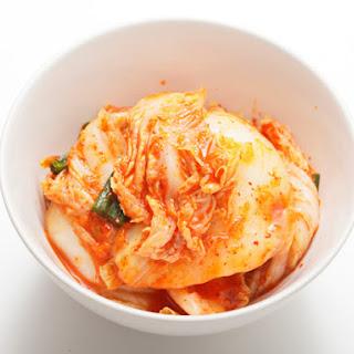 Homemade Vegan Kimchi.